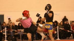 Championnat IDF Minime 2013 de kick boxing.
