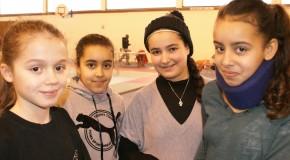 Championnat IDF poussin de kick boxing