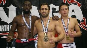 3 médailles d'Or au NAGA!
