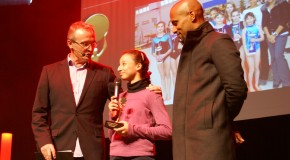 Lionel Picord sur la scène des Trophées du Sport