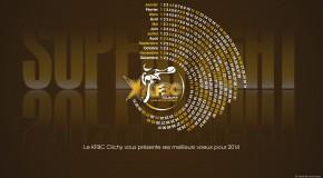 Le KFBC CLICHY vous souhaite une bonne année 2014