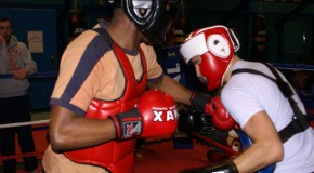 Stage kick boxing pour le CS CLICHY RUGBY