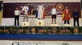 Mehdi Champion EU de Grappling
