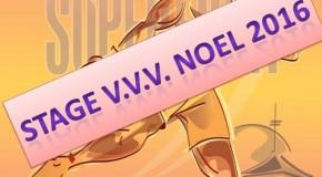 Stage V.V.V Noel 2016