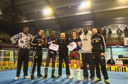 Championnat IDFKMDA de Muay Thai combat
