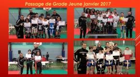 Passage de Grade Janvier 2017