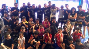 Rencontre amicale de Muay Thai Educatif
