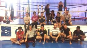 Rencontre amicale en Muay Thai