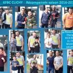 KFBC CLICHY    Récompensés saison 2016-2017