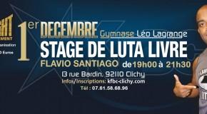 Stage de Luta Livre de Flavio Santiago
