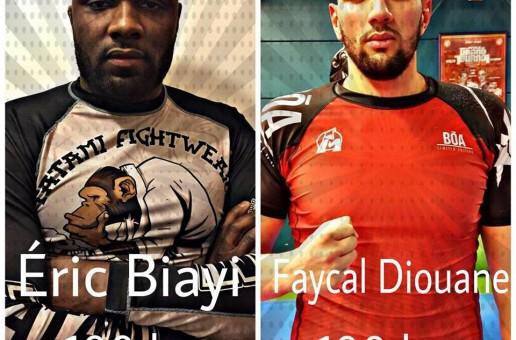 HBI Battle de luta livre de Faycale Dioune