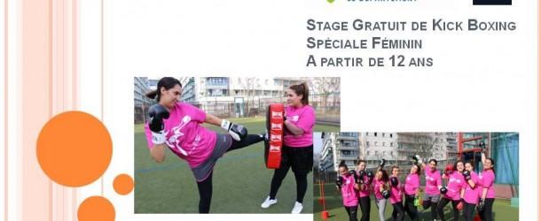 Stage féminin de KICKBOXING