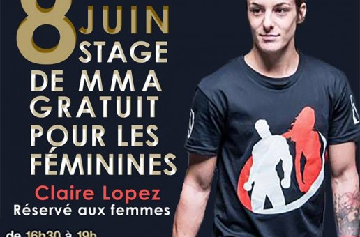EN EXCLUSIVITÉ STAGE DE MMA GRATUIT POUR LES FÉMININES