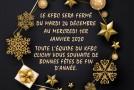 Le KFBC vous souhaite de bonnes fêtes de fin d'année
