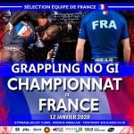 Affiche championnat de France 2020 NOGI