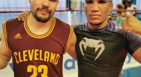 Stage MMA avec le Brésilien BRUNO MESQUITO