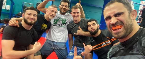 Echange avec le champion de l'UFC Milton VIERA