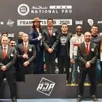 Staff et officiel équipe de France FFL à ROME 2020