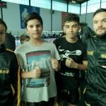 Luna, Ryan, Hicham et Nicolas team jeune du KFBC