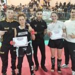Championne Majda avec le coach Thomas