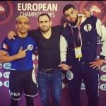 Samy, Mehdi et Faycale à ROME